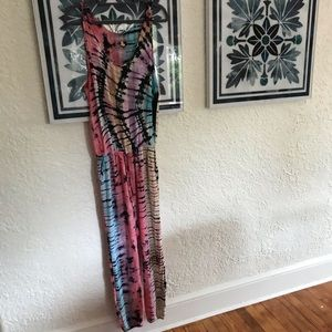 Indah Pants - Indah Rhodes tank top jumpsuit in tie dye